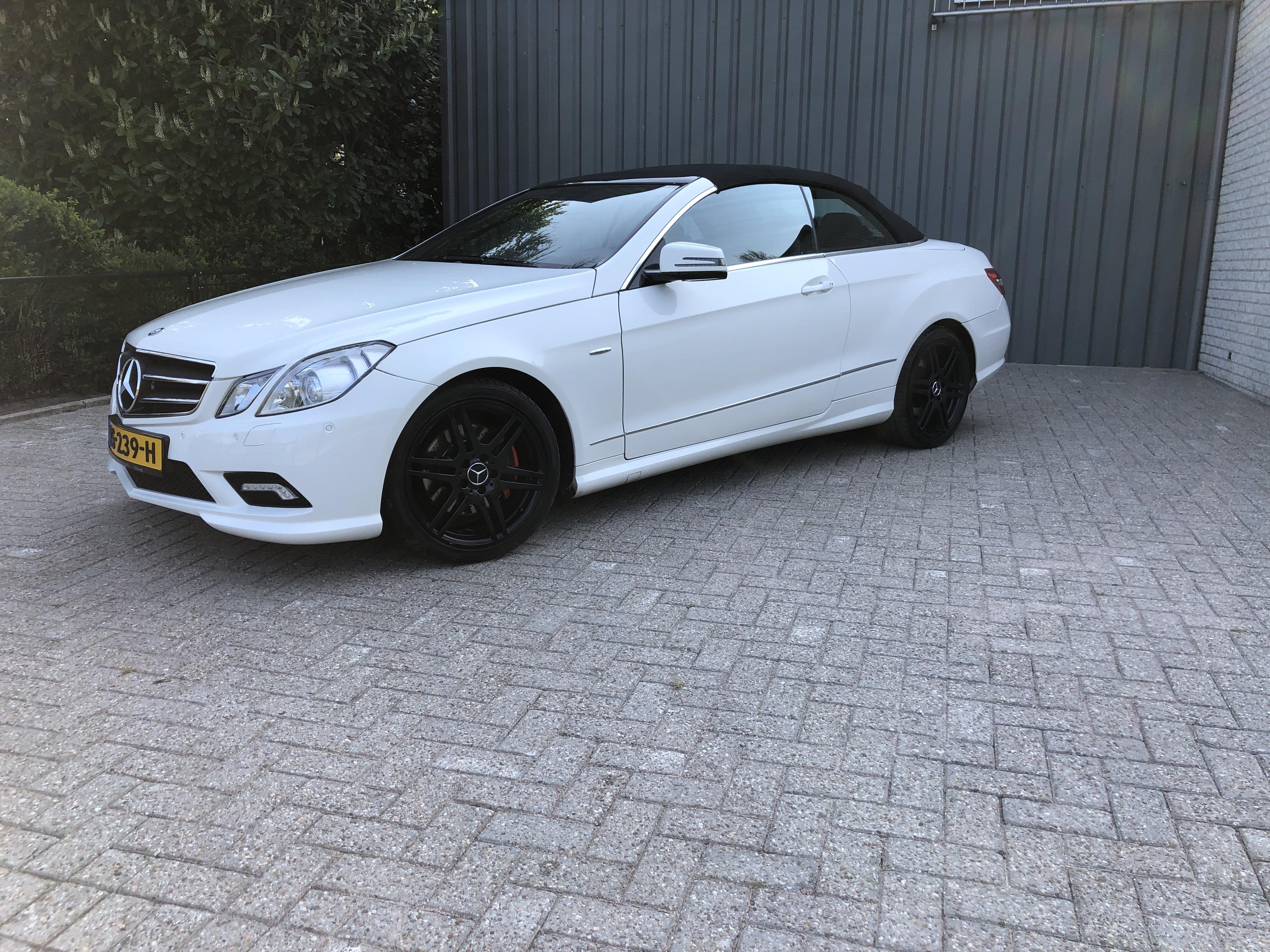 Mercedes E-Klasse E250cdi Cabr AMG pakket Aut7