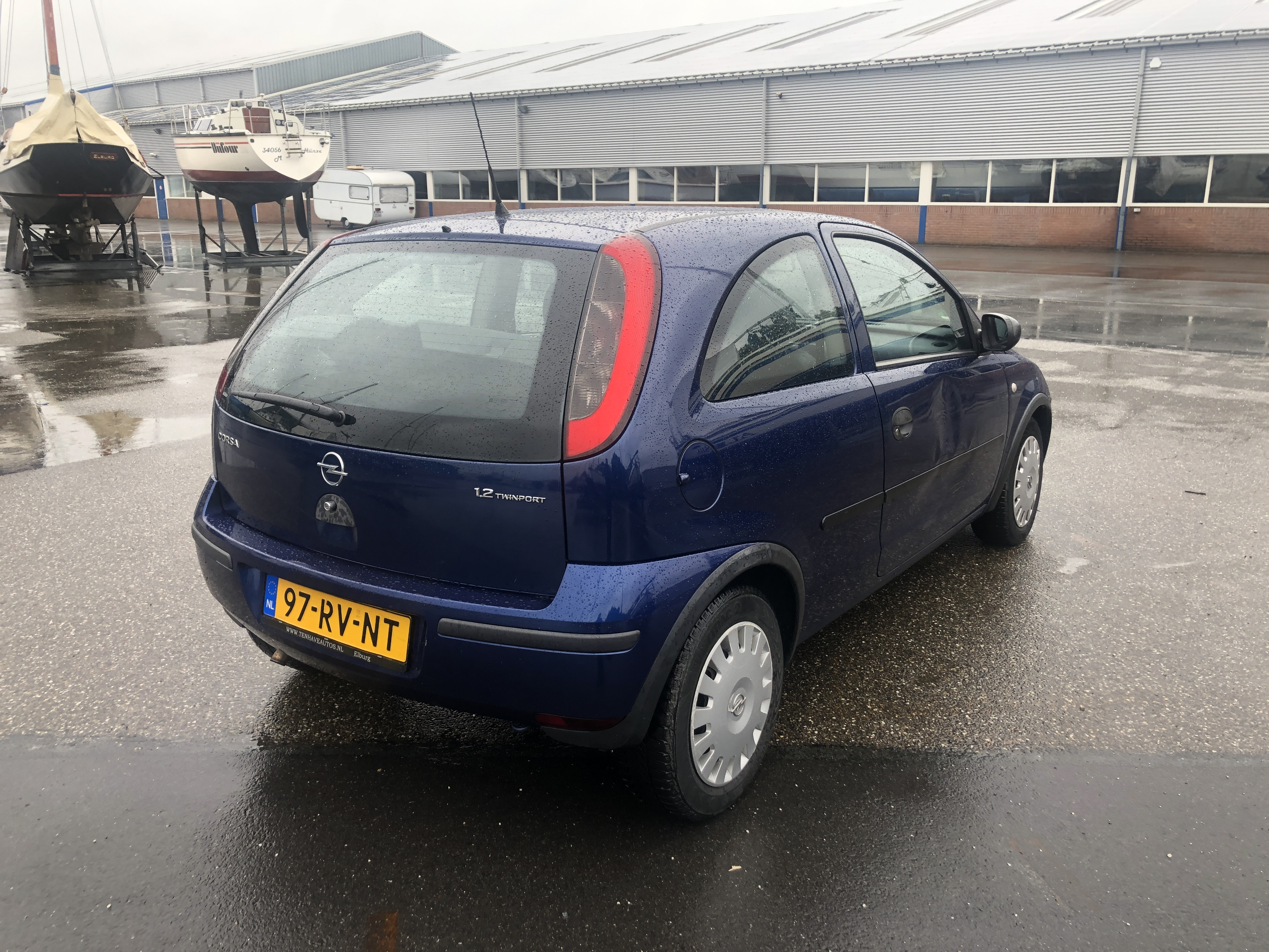 Opel Corsa 1.2 16V Twinport 3D 2005 Blauw
