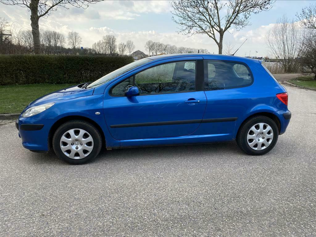 Peugeot 307 1.4 16V XS 3DR 2006 Blauw