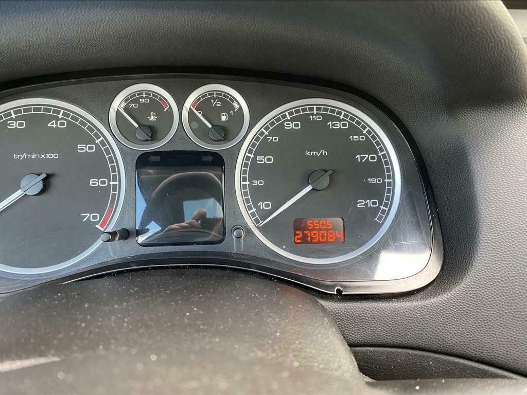 Peugeot 307 1.6 16V SW 2005 Zwart