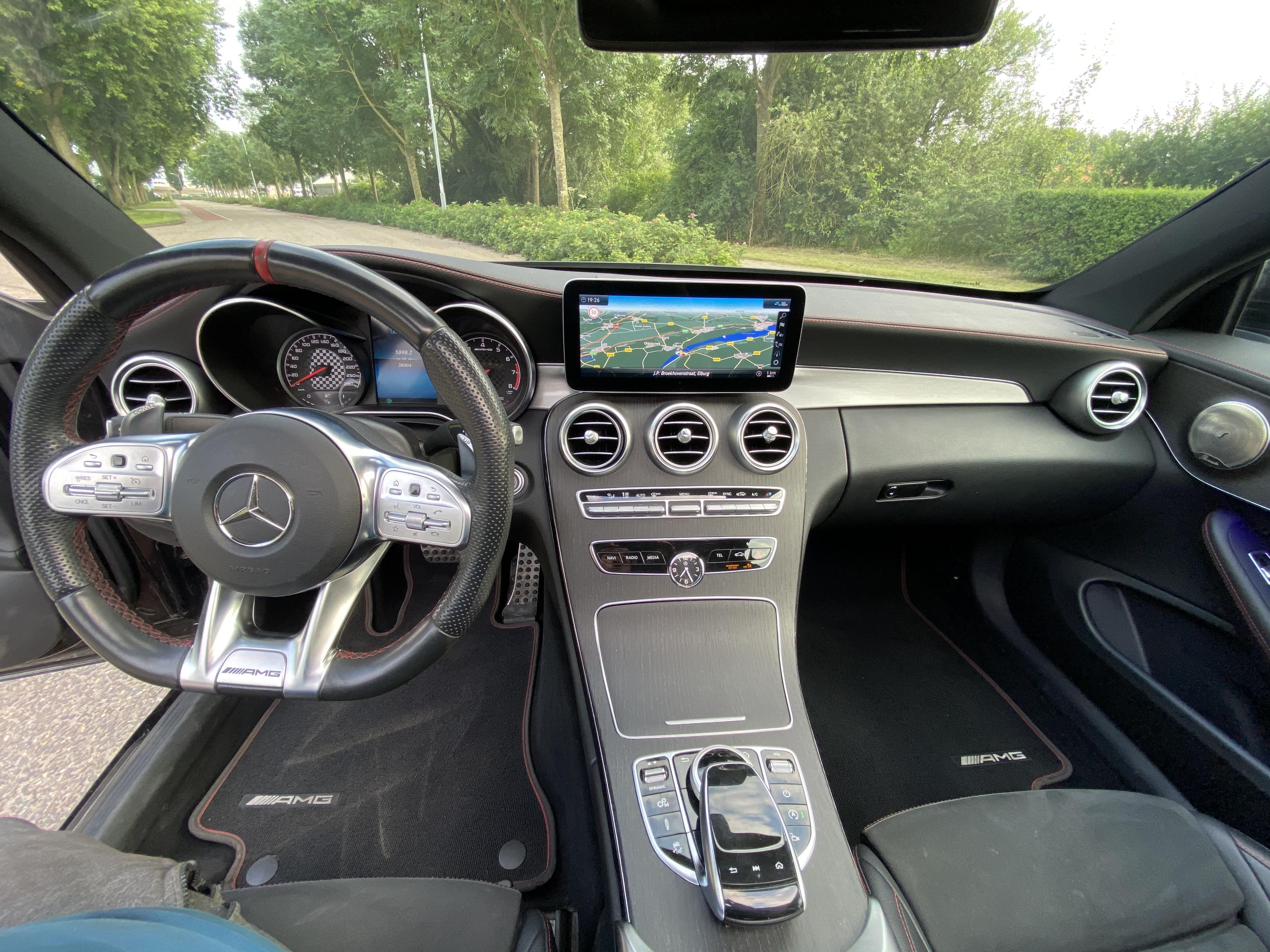 Mercedes-Benz C Coupé 43 AMG 4MATIC Panoramadak