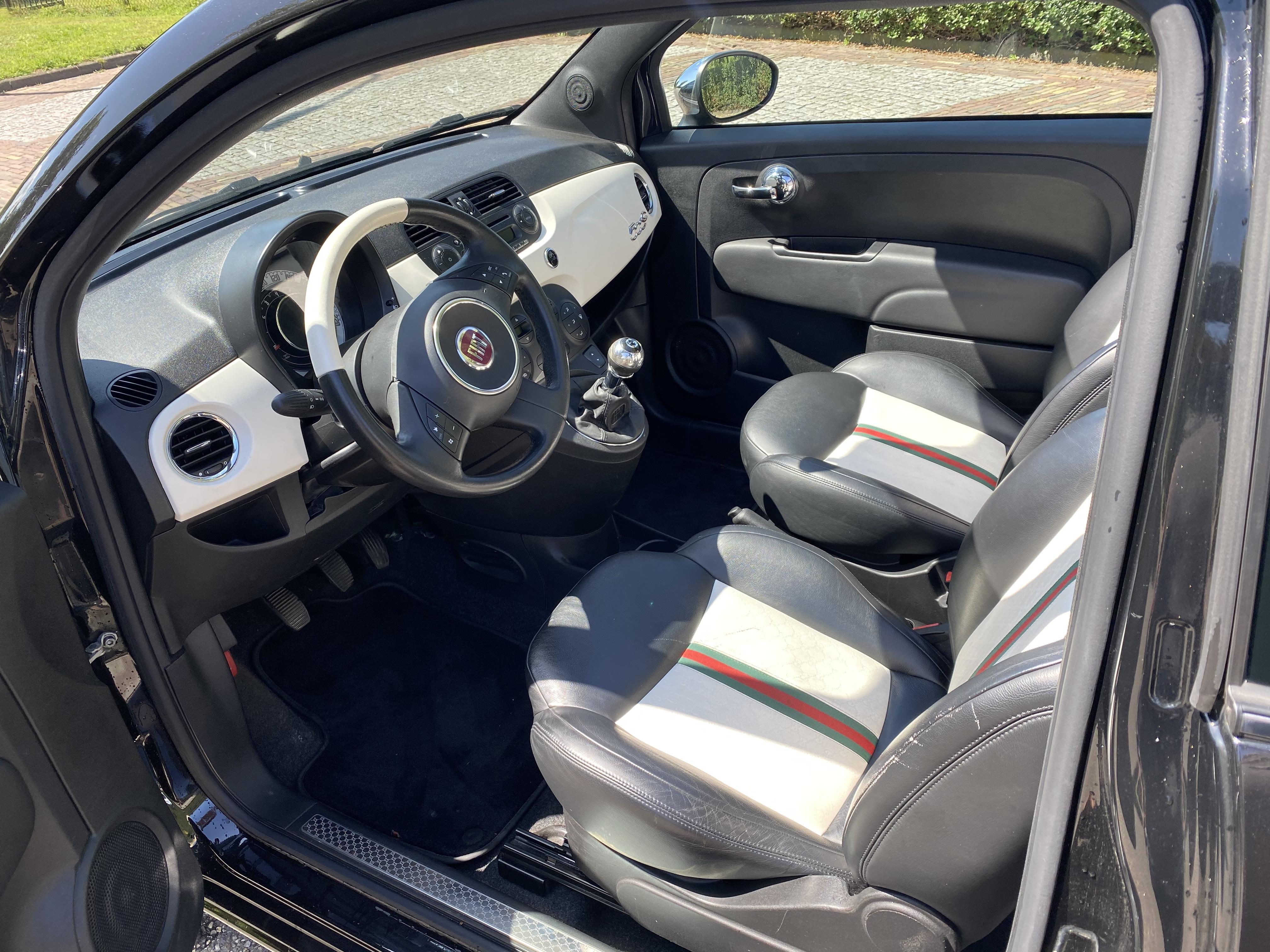 Fiat 500 C Gucci sport cabrio